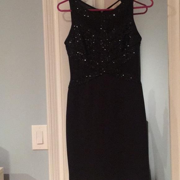 Aidan Dresses Black Cocktail Dress Petite Size 0 Poshmark